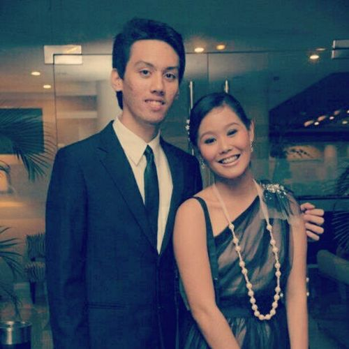 With Emman!  CVT