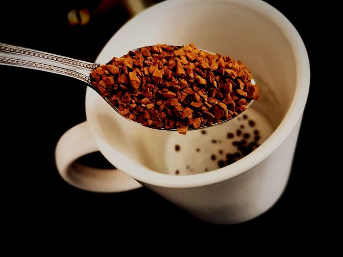 Coffee break Instant Coffee Coffee Coffee Cup Coffee Time Coffee Break Coffee ☕ Black Coffee White Cups Love Coffee Spoons Coffee At Home Coffeeaddict Coffee Pot Coffee Art Coffee Photography Photography Photooftheday Photographer Black Background Close-up Food And Drink