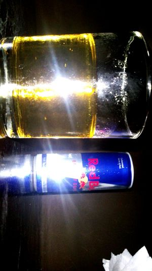 Redbull gives u wings, drink the sparks, to reach your dreamword, by heart
