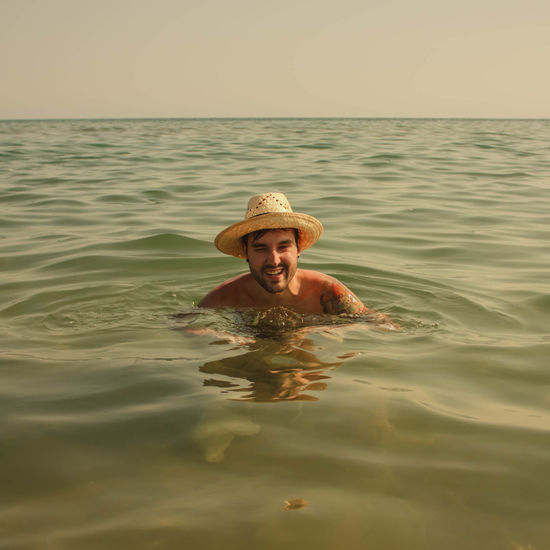 happiness Water Swimming Sea Portrait Beach Smiling Men Shirtless Summer Human Face