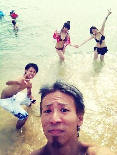 Happy :) Swimming