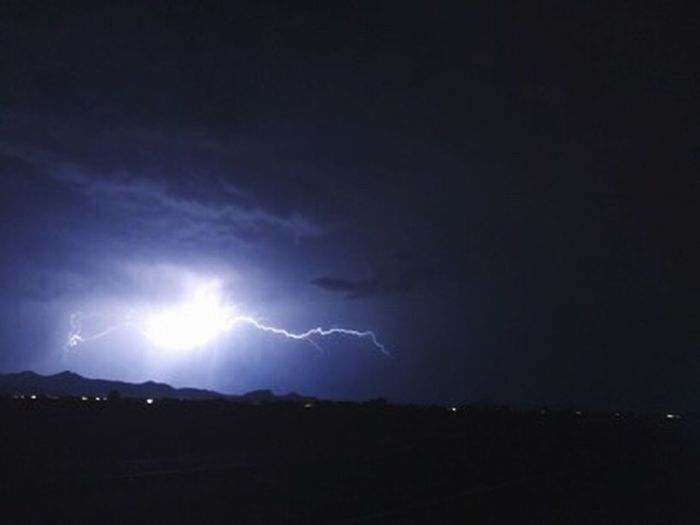 Lightning Night Thunderstorm Power In Nature Forked Lightning Weather Storm Nature Beauty In Nature Dramatic Sky Sky Storm Cloud Danger Silhouette Scenics Vitality No People Outdoors Electricity  Illuminated