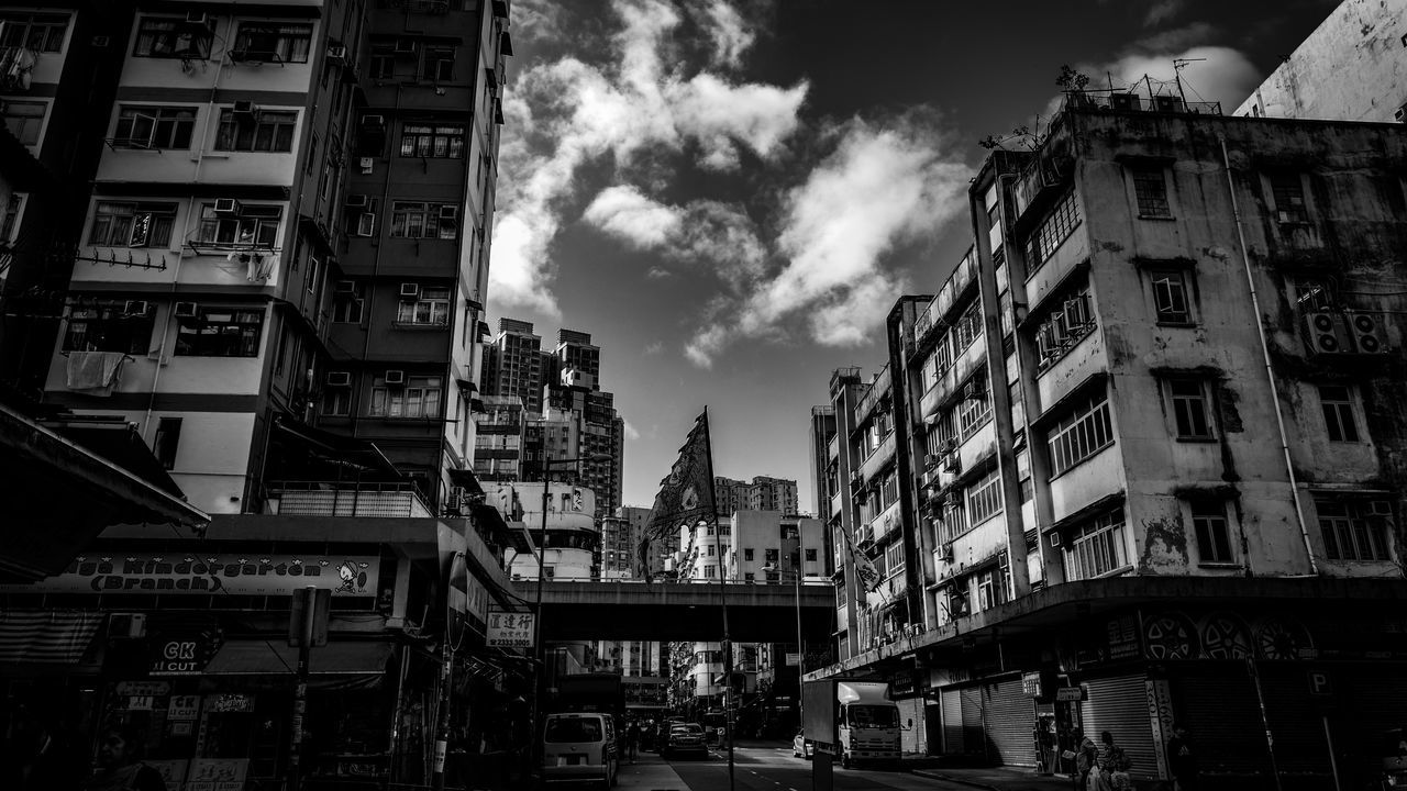 architecture, building exterior, built structure, city, sky, outdoors, residential building, day, no people