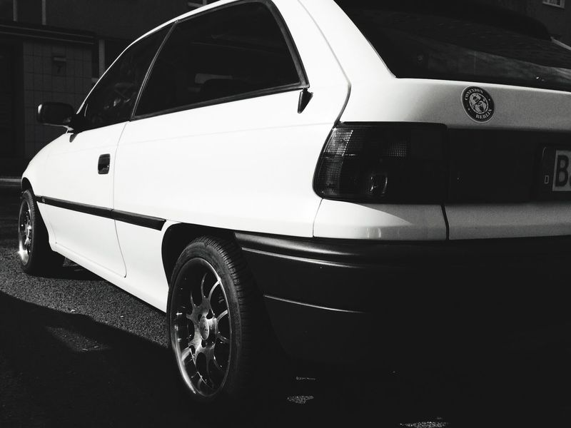 Opel Opel Astra Astra Cars Car Blackandwhite Berlin Berlin Mitte Check This Out My Fuckin Berlin
