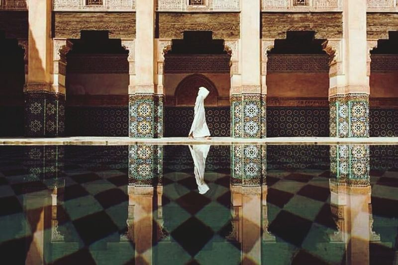 Reflection Architecture Symmetry Architectural Column Beauty Built Structure Building Exterior Outdoors Day History