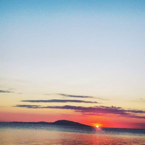 was in a beach with no electricity, this photo saying 'It would get dark later, set up a bon fire!' Beach Photography Sunset_collection Orange Sky Scenics Sunset Tranquility Beauty In Nature Instashot Manila Phillipines Batangas Philippines Photooftheday Pictureoftheday Instadaily Instatravel Instanature