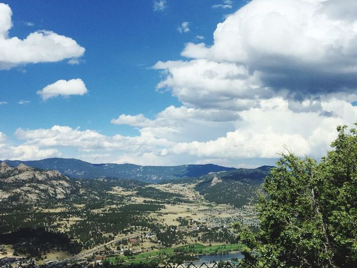Mountain Cloud - Sky Scenics Landscape Tranquility No People Colorado