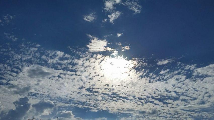 Sun Sky Clouds Sun Sky Sky And Clouds Beauty In Nature Nature Blue Sky Brasilia Sky