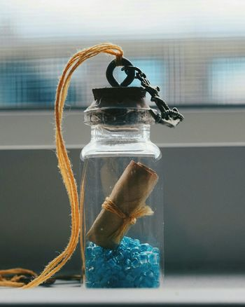Homemade tiny message in a bottle. Necklace Pendant Message In A Bottle Homemade Crafts Arts And Crafts Nautical Cute Nikond3300 Nikonphotography Nikonphotographer Amateurphotography Amateurphotographer  Photographylovers Teamnikon EyeEm Best Shots