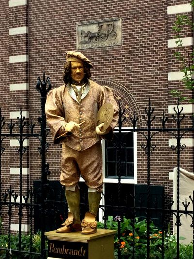 He made my day Amsterdam Rembrandt Iamamsterdam