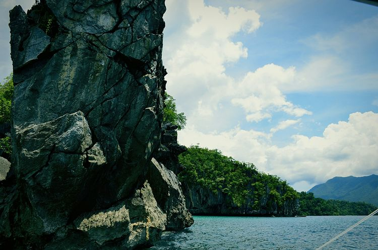 Check This Out Hello World Relaxing How Do You See Climate Change? Showcase: November Water Landscapes Landscape Natural Beauty Nature Photography Nature_collection Nature Naturelovers Rocks Mountains Mountain View Clouds And Sky Clouds Travel Eyeem Philippines My Best Photo 2015 Puerto Princesa City Palawan Philippines
