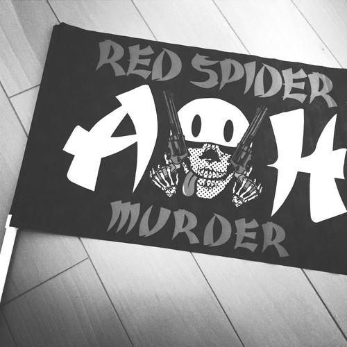 REDSPIDER Redspider Flag Reggae