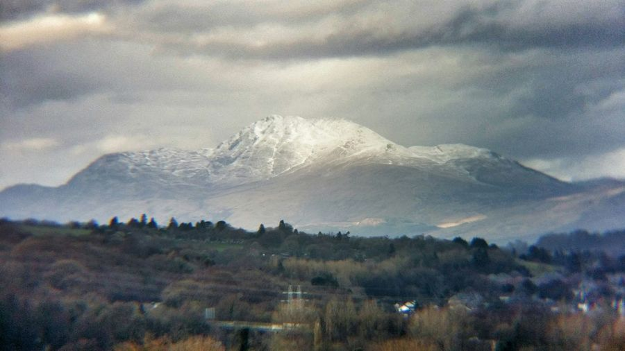 Ben Lomond Mountain Mountain View Winter Winter Wonderland Snow Snow ❄
