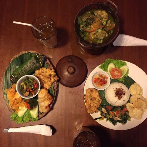 Nasi bakar + ayam woku Food Foodphotography Indonesian Food Iphonography Delicious Jakarta Authentic Indonesian Food