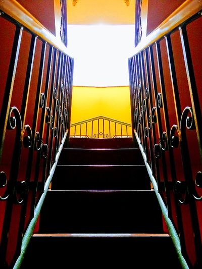 Exceptional Photographs EyeEm Best Shots Light Stairs Architecture Built Structure Close-up Day Eye4photography  Light And Shadow No People Red Stairways
