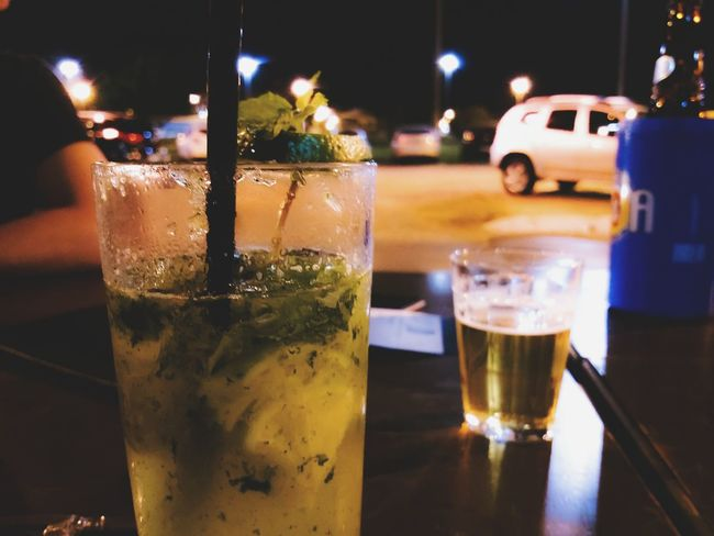 Drink Refreshment Drinking Glass Alcohol Beer Glass Food And Drink Night Beer - Alcohol Freshness Illuminated Cold Temperature Close-up Outdoors Brazil Motoz Motofoto
