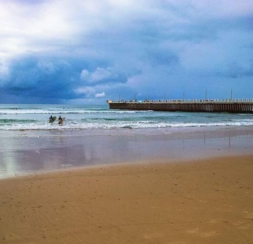Storm Sky, Durban, South Africa Surf Sea Durban South Africa