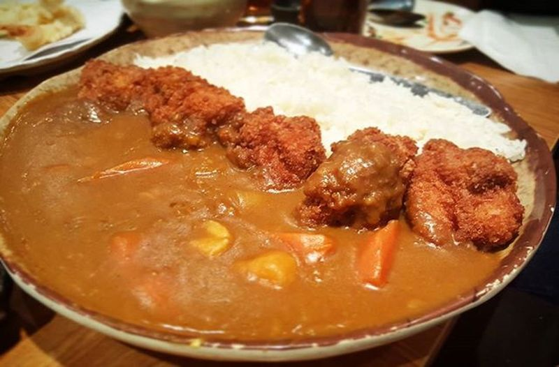 Super large katsu curry all for me 😲 Curry Katsucurry Tasty Dinner Chicken Amazing Large Supersize Delicious Foodpic Instafood Healthyeating 😛 Yousetmeupbobo