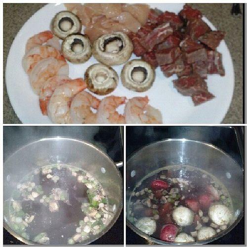 Melting pot at home (: Ineedmyownshow Wifematerial Foodporn