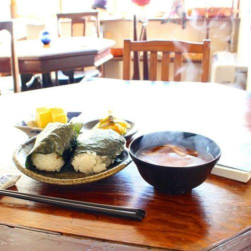 朝ごはんのけむり 朝ごはん かもめや 北海道 小樽