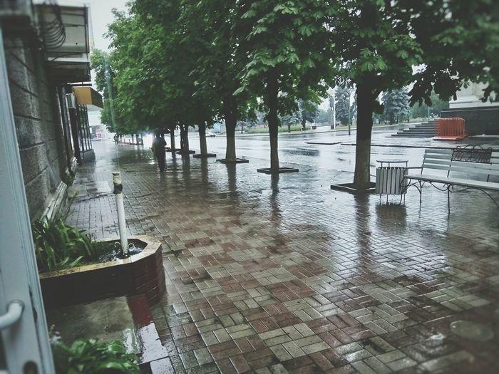 Rain LPR Luhans'k, Threes LonelyDays First Eyeem Photo
