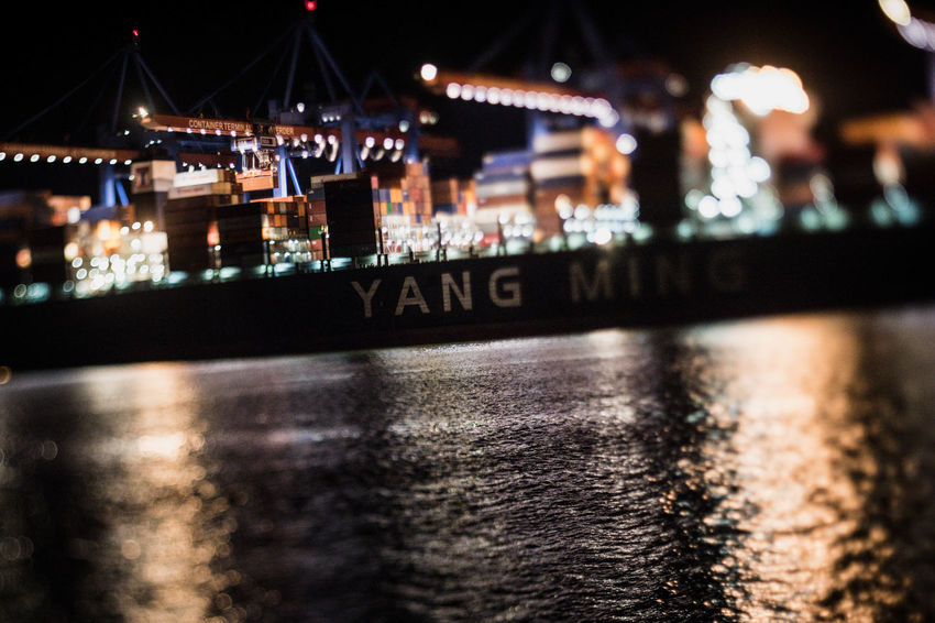 24/7 Hafen Newoneyeem Night Lights Nightphotography Nikon D5 Reflection Tilt-shift Working Hard Architecture Building Exterior Built Structure Illuminated Licht Light And Shadow Night No People Outdoors Reflections In The Water River Squeezerlens Tiltshift Water