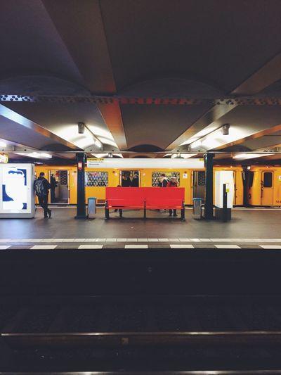Notes From The Underground Underground Subway Berlin EyeEm Public Transportation