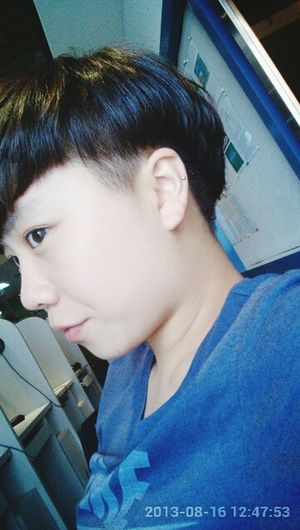 My short hairstyle~