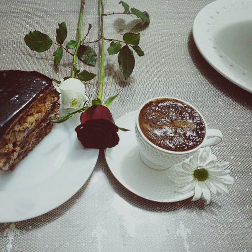 Coffee Chocolatecake Daisy Rose🌹 Popular Photos Photography Wonderfultime Turkishcoffee