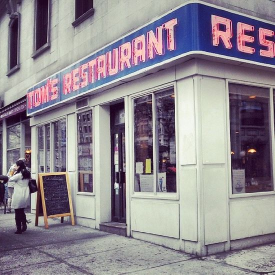 Cholulo tour. Seinfeld TomsRestaurant NYC