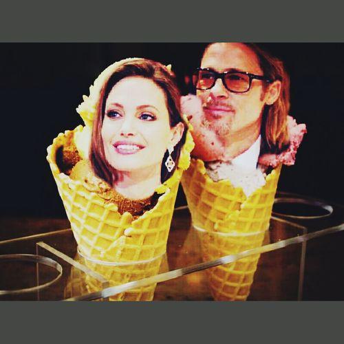 Gelato Gelati Angelina Jolie Brad Pitt Europapassage Sketch Hello World Taiwan #Italy #Milan #Turin #Sardegna #Sicilia #Puglia #Basilicata #Campania #Calabria #Molise #Lazio #Roma #Cerignola #Bari