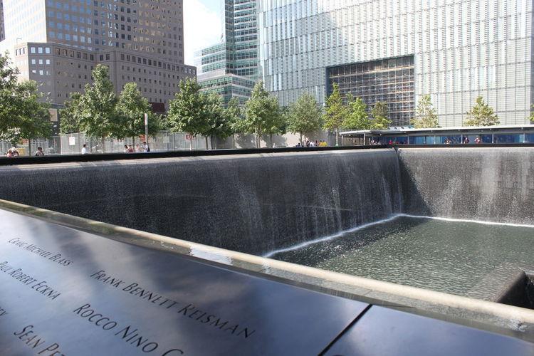 9/11 Memorial Fountain...