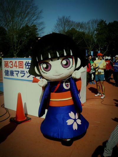 Chiba saku ra city name:kamurochan http://www.city.sakura.lg.jp/sakura/sakura400/ ゆるキャラ