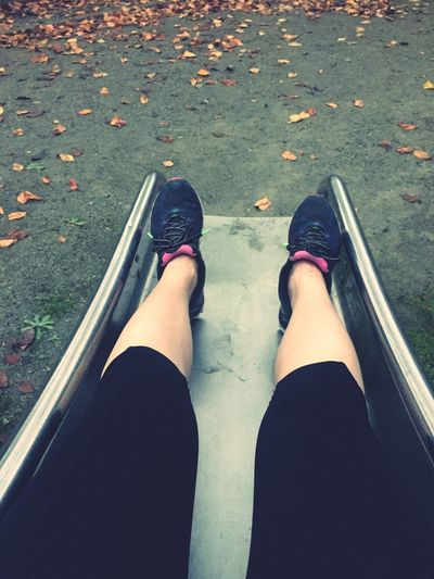 Sentimental October Travelingfoot Jogging Diet & Fitness Enjoying Life Autumn Autumn Leaves