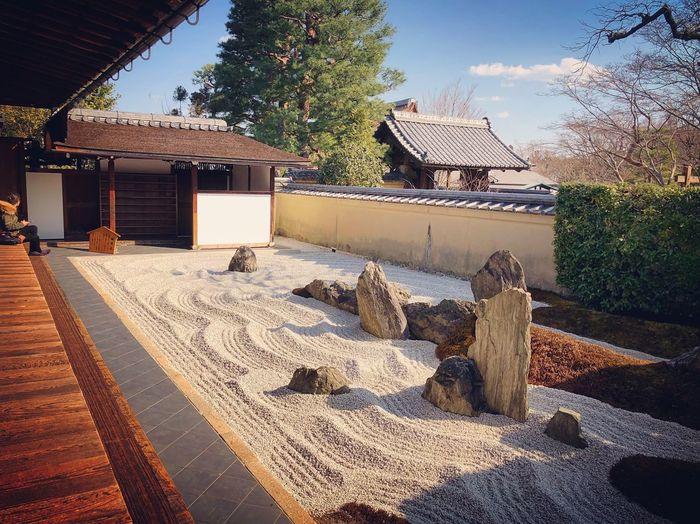 瑞峯院 大徳寺塔頭 Kyoto,japan Kyoto Garden Trip Photo Travel Destinations Tranquil Scene Japanese Garden Japan Photography Architecture Built Structure Building Exterior Sky Outdoors Day Tree