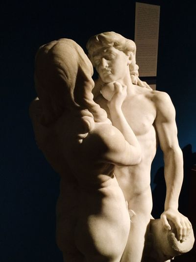 Art And Craft Human Representation Statue Male Likeness Sculpture Fine Art Statue No People Indoors  Close-up Day Adam&eve Budapest_national_gallery