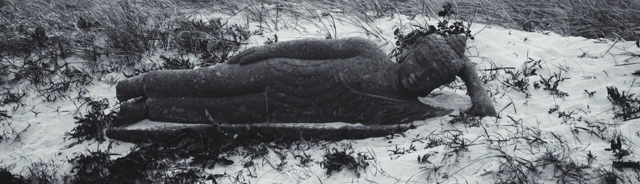 Sylt Strand Buddha