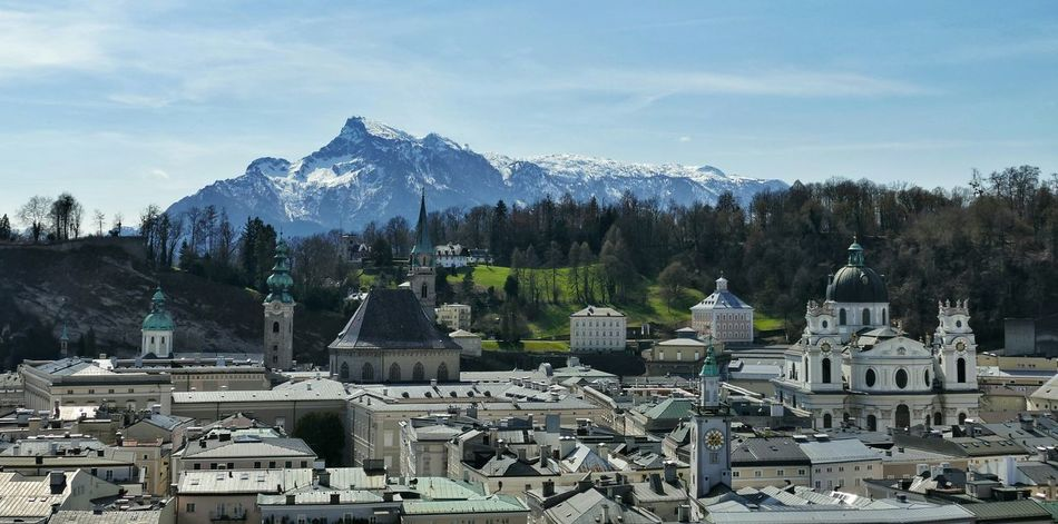 Salzburg Austria Alps Mountains Cities Urban Spring Fever Here Belongs To Me No People Cityscapes Roofs Houses Historical Buildings The Great Outdoors With Adobe Your Ticket To Europe