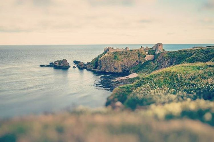 Castle Dreams - Created a dreamy image of Dunnottar Castle with a filter, fade and tiltshift edit. Dunnottarcastle Dunnottar Beautiful Coastline Castle Dreamy Vintage Fade Nashville Tiltshift Blur Romantic Valentines Stonehaven Beautifulscotland Visitaberdeen Visitaberdeenshire VisitScotland Brilliantmoments Photooftheday Landscape EyeEm Best Shots EyeEm Best Edits EyeEm Nature Lover Landscapes With WhiteWall