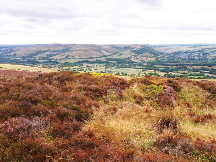 View from the hill Hill Labdscape Landscape_Collection Landscape_photography Mountain Sky Landscape Cloud - Sky