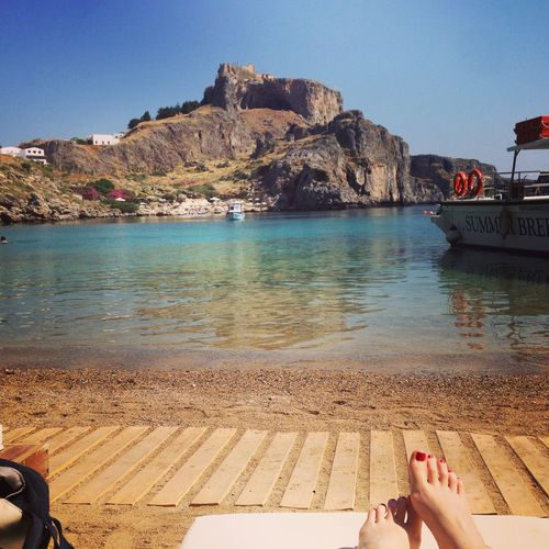 Summer Views Greece Enjoying Life Summer Summertime Happiness Beach Relaxing Gorgeous Hello World Feel The Journey
