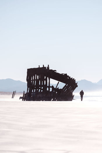 Silhouette (IG @noeldxng) Peter Iredale Oregon Fort Stevens State Park View Silhouette Shadow UnderSea Sea Water Mountain Silhouette Sunlight Accidents And Disasters Shipwreck Run-down Damaged Bad Condition Ruined Weathered Rusty Deterioration Abandoned Salt - Mineral Wreck 17.62°