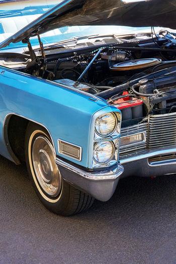 Vintage car is