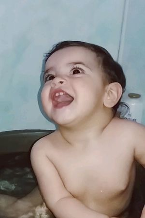If 5 seconds of smile can make a photograph more beautiful. That just imagine, if you keep always smiling how beautiful your life will be💖💖💕💞 Niece  Shower Time Happy Baby Happy Moment♥ I Love Her So Much <3:) Tooth In Water My One my Positive The Baby <3 One In A Million <3 Beauty Baby Emotional