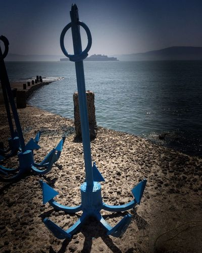 Sea Murud Janjira Fort Murudjanjeera Anchors⚓ Anchor - Vessel Part Arabiansea Arabian Sea