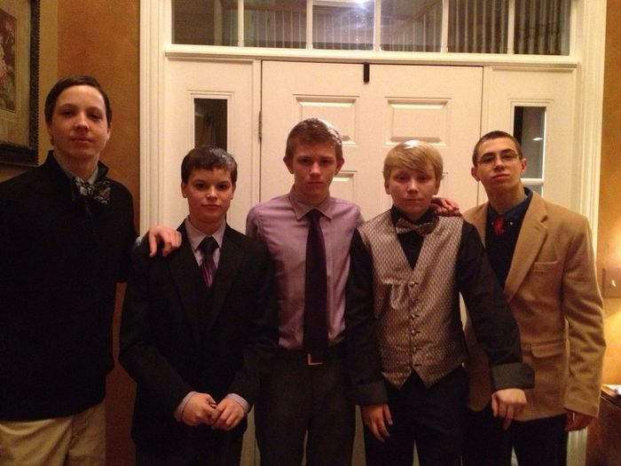 The Formal Dinner Party