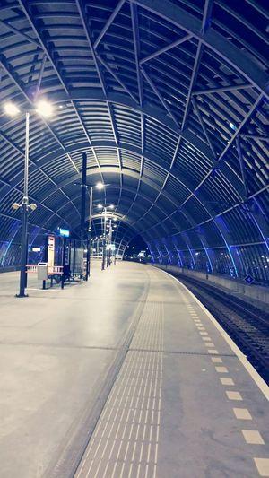 Train Station Deserted Destination Unknown Vanishing Point