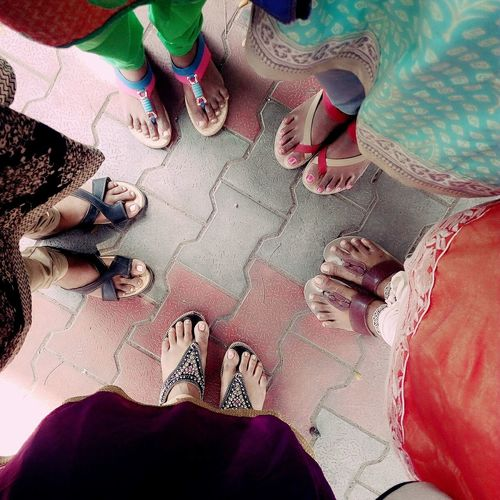 Human Body Part Lifestyles Low Section Real People Human Hand Multi Colored Women Human Leg People Adults Only Togetherness Indoors  Close-up Adult Only Women Day Spinsters Party🎊🎉