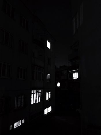 Black Black Photography Night Bursa Architecture Window Built Structure No People Building Exterior Night Indoors  Illuminated