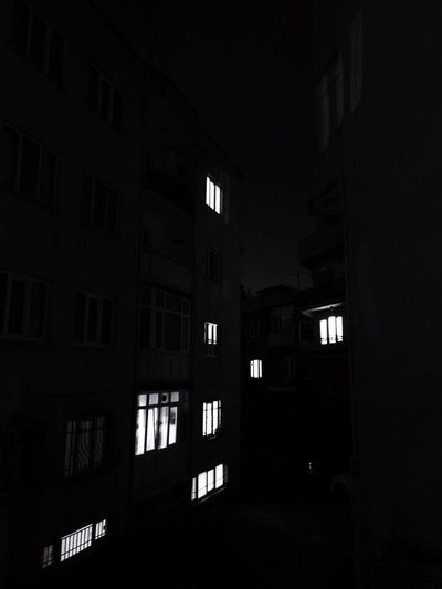 Black Black Photography Night Bursa Architecture Window Built Structure No People Building Exterior Night Indoors  Illuminated